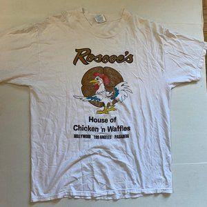VTG 90s Roscoe's House of Chicken N Waffles Shirt